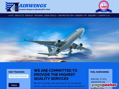 Airwings courier Express (India) Pvt. Ltd.