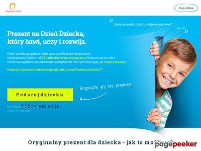 Prezenty na Dzień Dziecka - gry Akademii Umysłu