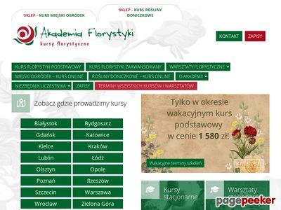 Akademia Florystyki - kursy florystyka