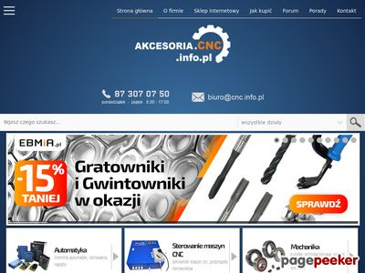 Silniki elektryczne - Akcesoria.cnc.info.pl