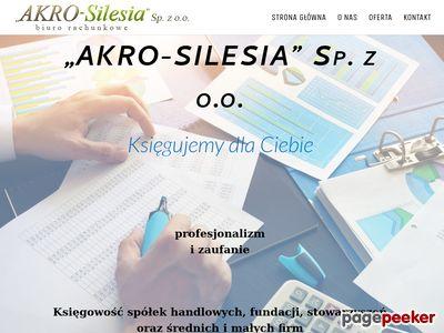Akro-Silesia Sp. z o.o. biuro rachunkowe śląsk