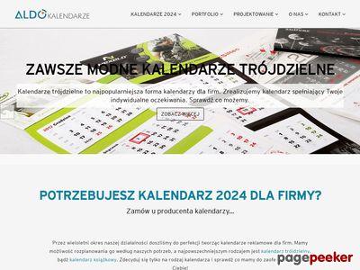 Produkcja kalendarzy firmowych ALDO