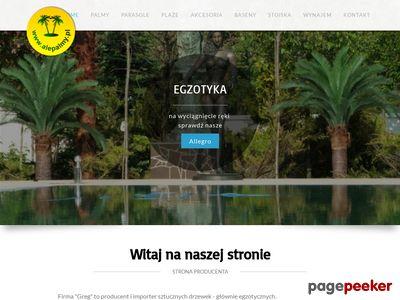 Alepalmy.pl - Sztuczne Palmy na zamówienie