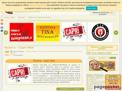 Ranking pizzerii, najlepsza pizzeria w Krakowie