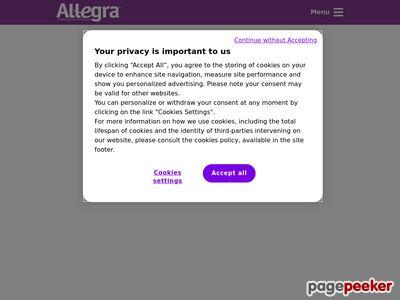 Lek na alergie - alergia-allegra.pl