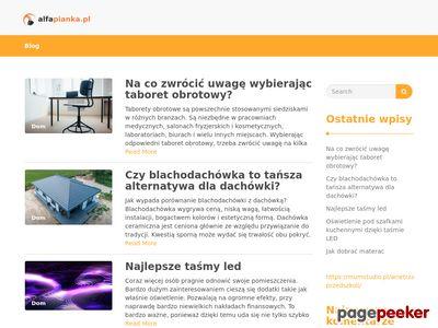 www.alfapianka.pl - Izolacje natryskowe Zabrze