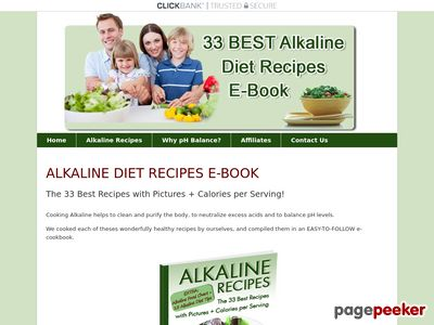 Download Alkaline Recipes E-Book – Alkaline-Recipes.com