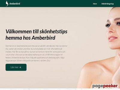 Amberbird - Hårförlängning,  Extensions,  Nailhair,  Clip-On - http://www.amberbird.se