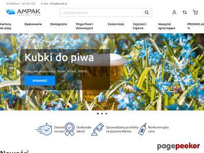 Opakowania na żywność - ampak.pl