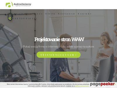 Andrzejjeziorny.pl Tworzenie stron internetowych