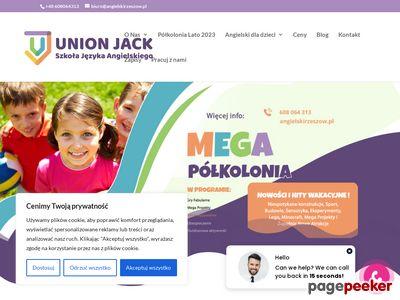 Szkoła angielskiego UNION-JACK - Rzeszów