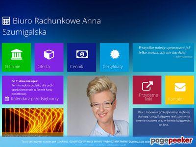 Biuro rachunkowe Kraków, księgowość Anna Smaluch