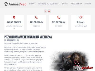 Klinika weterynaryjna Animal-Med - Wieliczka