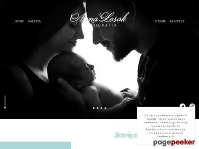 Anna Łosak - fotografia noworodkowa, niemowlęca