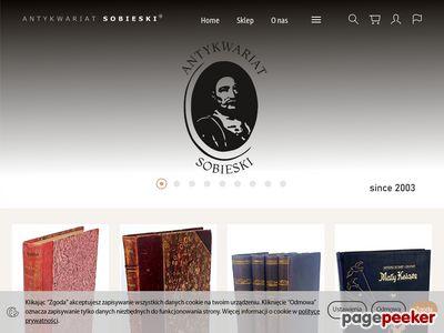 Antykwariat Sobieski starodruki książki grafiki