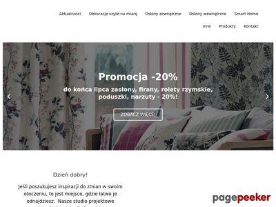 Firanki, zasłony Anwo Lublin