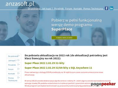 Program kadrowo-płacowy SuperPłace firmy Anzasoft