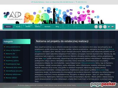 AP Reklama - litery 3D