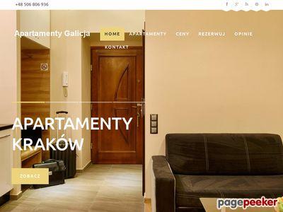 Apartamenty kraków kazimierz