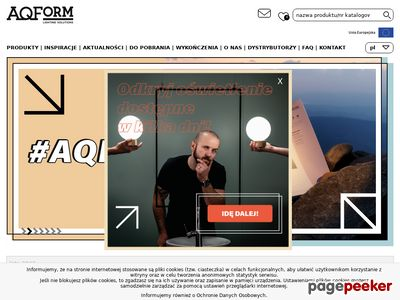 Lampy, oświetlenie nowoczesne - aquaform.pl