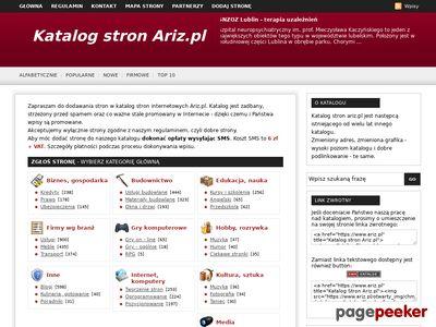 Katalog stron Ariz