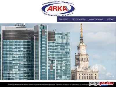 Przeprowadzki Katowice Tania przeprowadzka Warszawa Przeprowadzki Wrocław Kraków - Arka