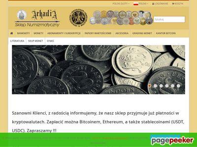 Arkadia-Sklep.pl -sklep numizmatyczny