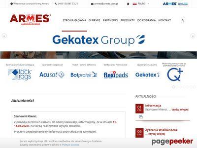 Płótno ścierne - www.armes.com.pl