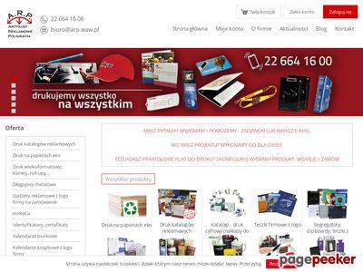 Artykuły reklamowe - Arp.waw.pl