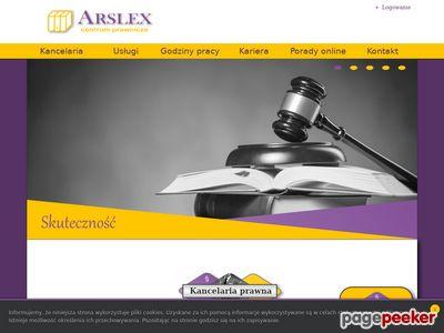 ARSLEX - gdy adwokat jest za drogi