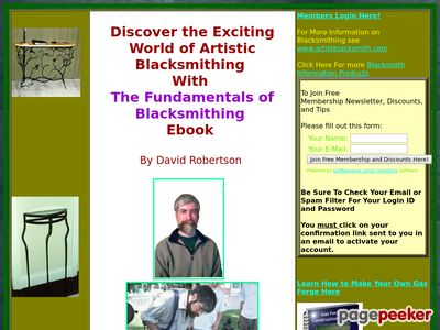 The Fundamentals of Blacksmithing, Ebook in pdf format