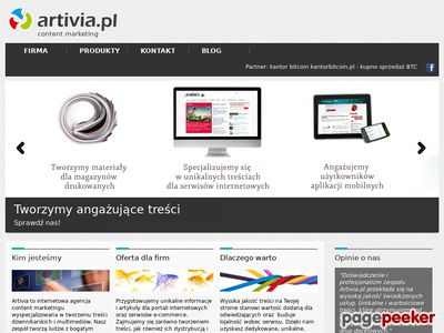 Content marketing artivia.pl