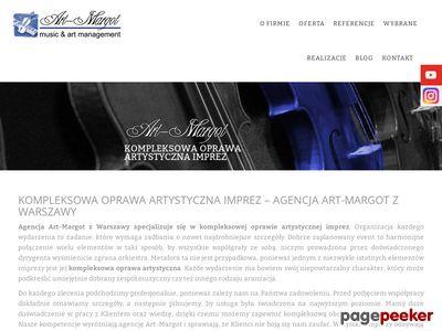 ART-MARGOT M. SZYMANEK-PIOTROWSKA zespół muzyczny na imprezy warszawa