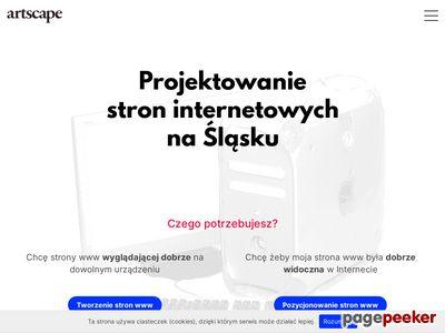 Artscape - Projektowanie stron www