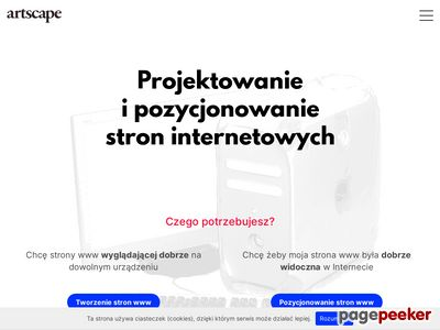 Artscape - strony internetowe