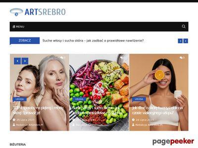 Biżuteria Artystyczna w Portalu Modowym ArtSrebro.pl