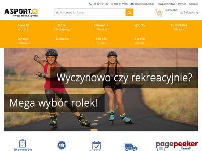 Asport.pl - sprzęt sportowy