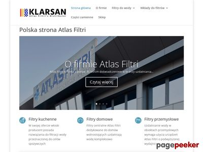 Atlas Filtri - filtry domowe i przemysłowe