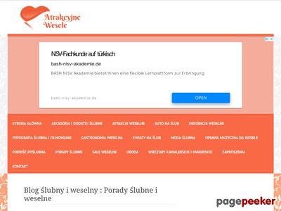 Atrakcyjne-wesele.pl Organizacja ślubu