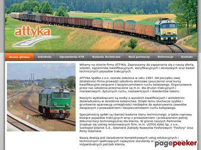 Attyka - badania techniczne i naprawa lokomotyw