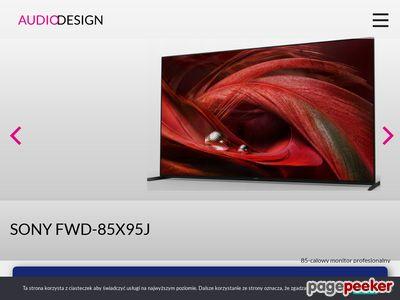 Audio Design - kino domowe jbl harman nad paradigm akg multiroom