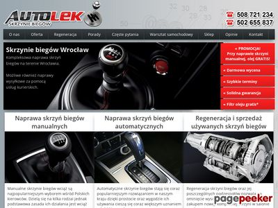 Skrzynie biegów Auto-lek Wrocław