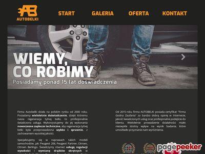AutoBelki.pl - regeneracja tylnej belki