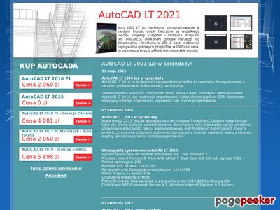 Oprogramowanie Autocad