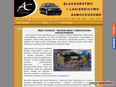 Auto-Central Kraków blacharstwo kraków