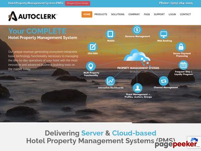 AutoClerk - Property Management System for Hotels, Motels, Lodges, Country Inns Screenshot