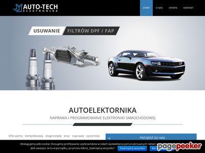 Usuwanie filtra FAP Auto-Tech Rzeszów