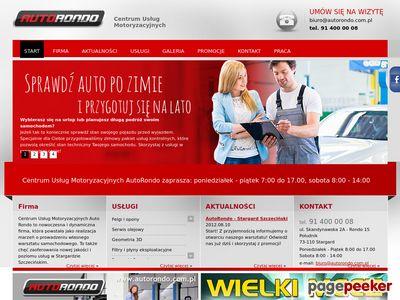 AUTO RONDO SP. Z O.O. mechanika pojazdowa stargard