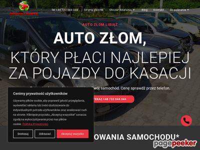 auto złom, kasacja aut Czeladź Będzin Sosnowiec