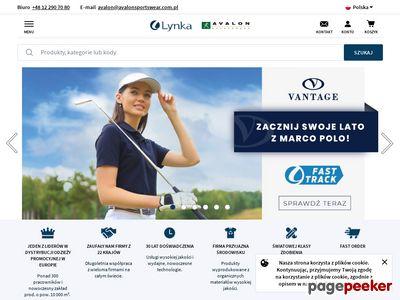 Odzież sportowa - avalonsportswear.com.pl